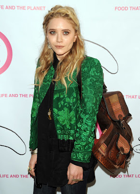 Mary-Kate Olsen Wide Band Ring