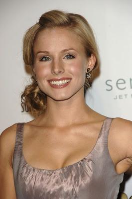 Kristen Bell Gold Dangle Earrings