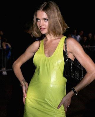 Natalia Vodianova Gold Bracelet