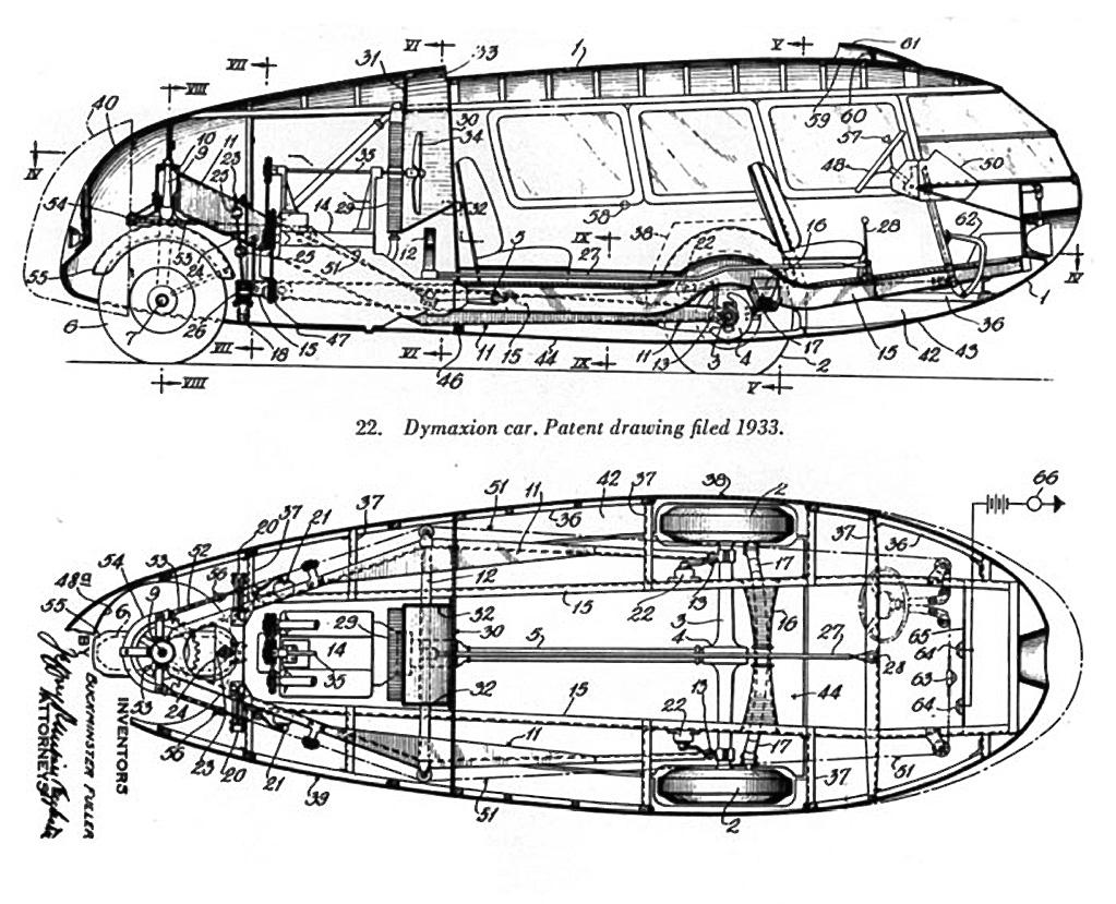 derek langille  dymaxion car  4