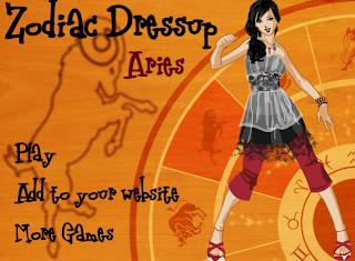 Juego para vestir a la chica del zodiaco Aries