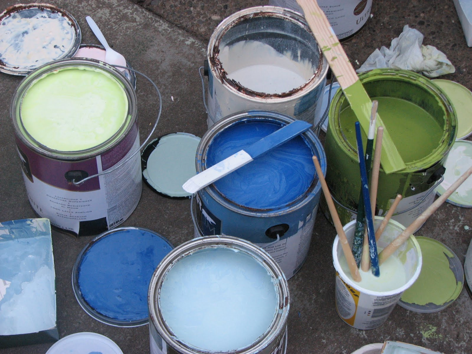 Mixing paint create enjoy for Satin paint vs eggshell