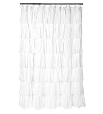 Inspired shower curtain by suzannah of adventures in dressmaking