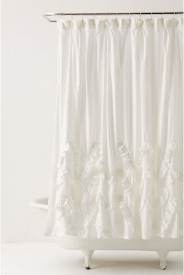 anthro+waves+of+ruffles+shower+curtain National Sewing Month: Anthropologie Inspired Shower Curtain by Suzannah of Adventures in Dressmaking