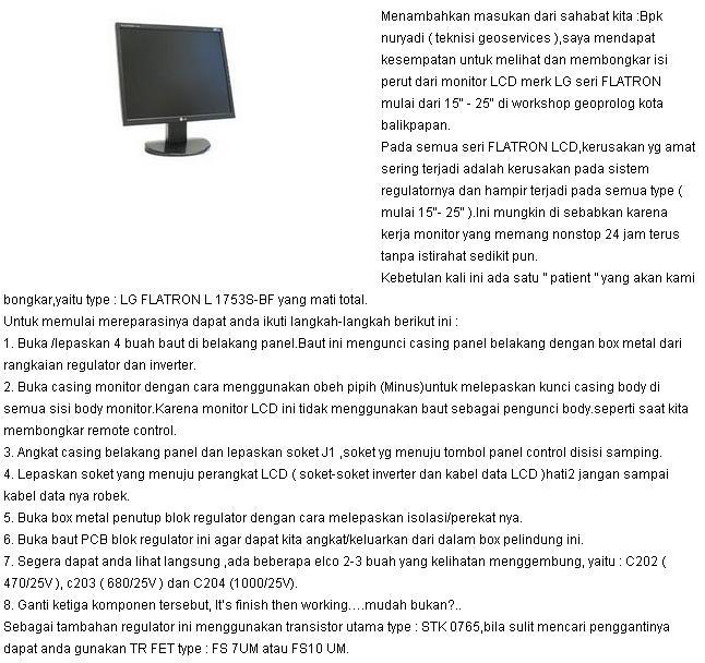 service manual monitor lcd LG