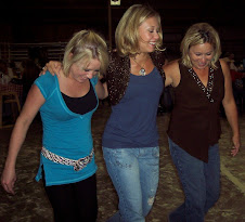 Cheree Me and Aunt Laura doing the cotton eyed joe!