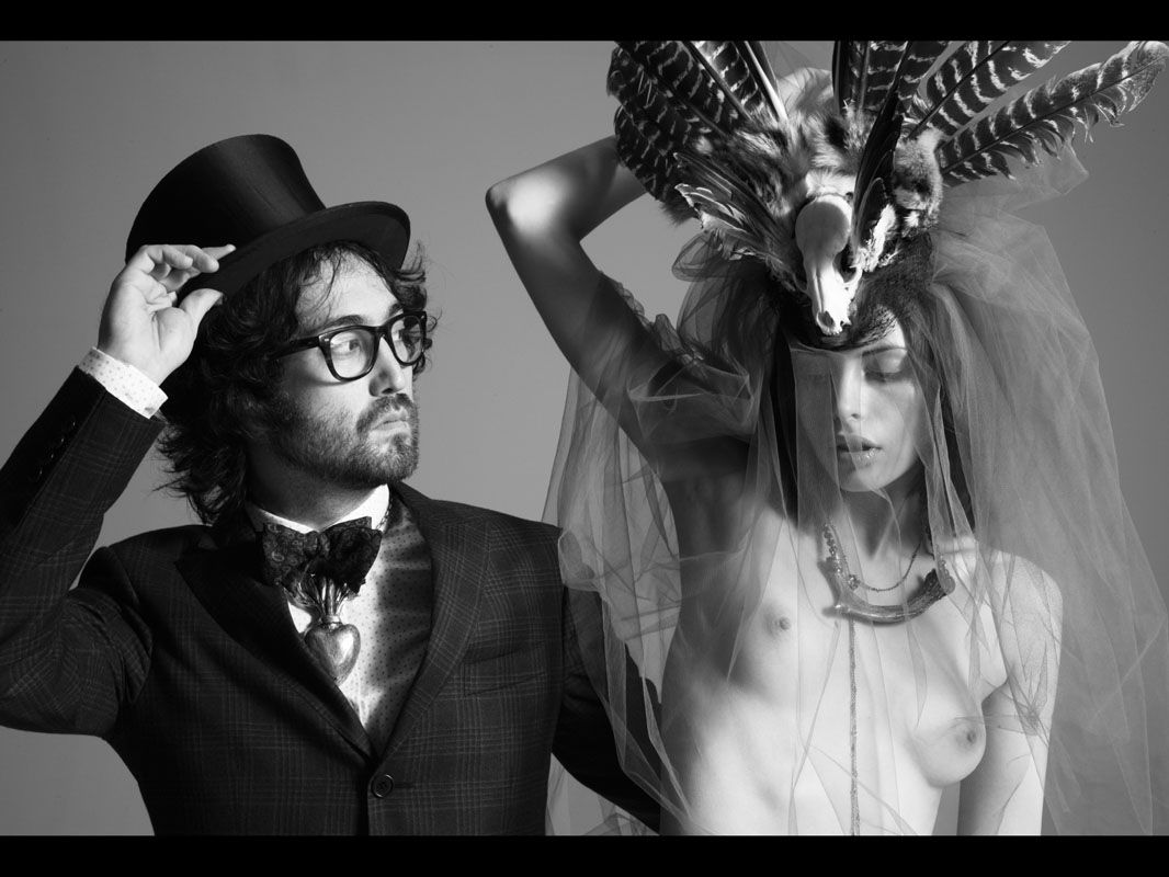 Sean Lennon And Nude Model Recreate John And Yoko