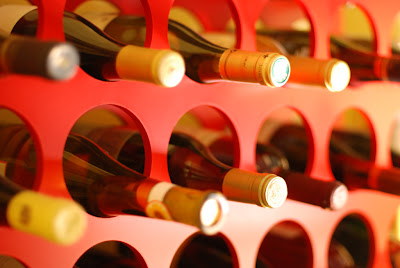 Aging Wine Bottles in Wine Cellars or Wine Storages