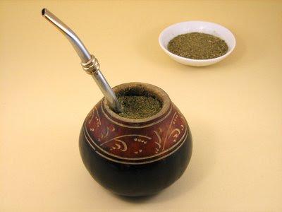 Uruguayan Foods Yerba Mate Tea, Gourd, Bombilla