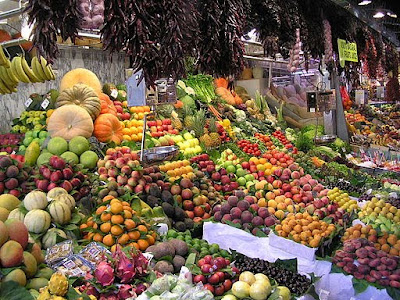 Picture of Foods: Essential Vitamins for Good Vision - Fruits and Vegetables