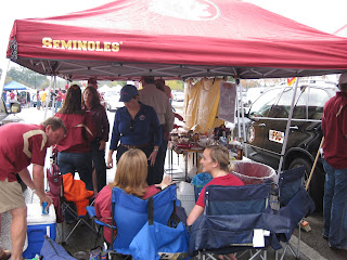We have really enjoyed the FSU football season and all that is involved with tailgating. Rick u0026 Joanne have gotten into the festivities this year and are ... & Crazy Travelers...: Rivalry Weekend - FSU vs UF