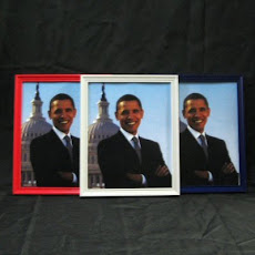 Framed Obama Prints