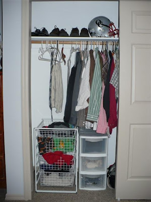 Good ... Small Closet Redo By Six In The Northwest Room Makeover Completed ...