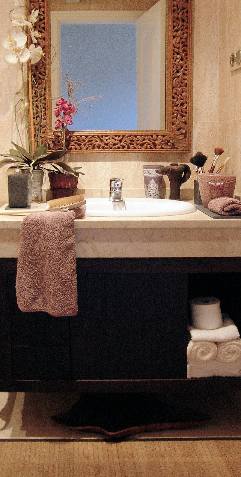 Baños Dormitorio Principal:Rincones con Encanto: FOTOS: Dormitorio y baño principal