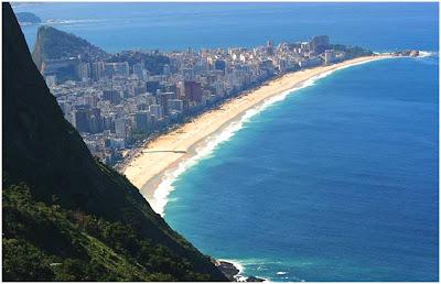 Cartões Postais do Rio de Janeiro  - Praia de Ipanema