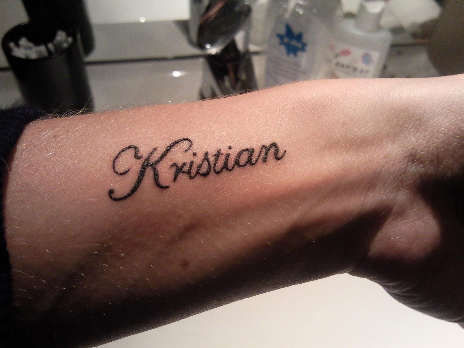 tatovering navn