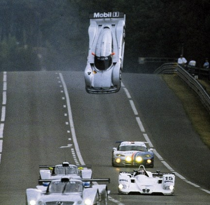 mercedes fly lemans