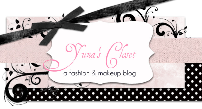 Yuna's Closet Fashion & Beauty Blog