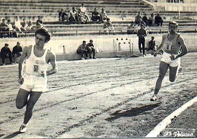 13. Mi primer contacto con una pista de atletismo en Madrid, fue en las instalaciones del SEU.