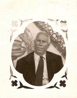 """5. Blas García García (mi abuelo). Conocido en Fuente Álamo, Albacete, como """"blasete""""."""