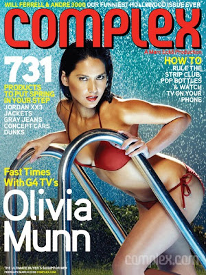 Olivia Munn Complex Magazine Cover