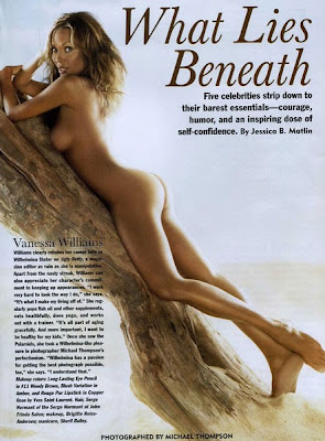 Vanessa Williams Nude in Allure Magazine's Look Better Naked Pictorial