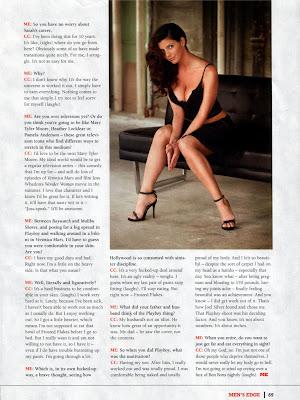 Charisma Carpenter Pics from Edge Magazine