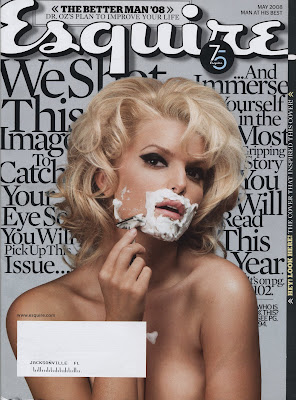 Jessica Simpson Esquire Pictures