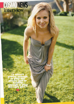 Kristen Bell Cosmo Pics (May 2008)