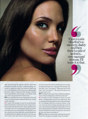 Angelina Jolie Entertainment Weekly Scans