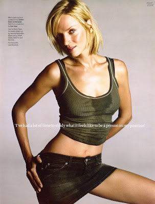 Uma Thurman Poses in GQ Magazine (2004)