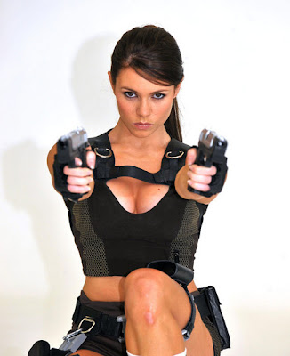 Alison Carroll is the New Lara Croft