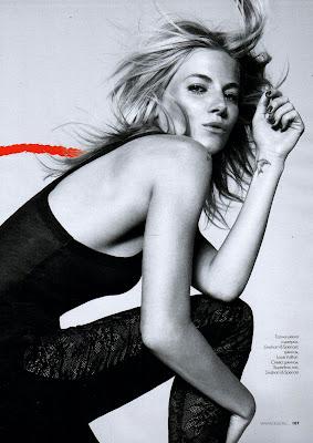 Sienna Miller Russian Elle Magazine