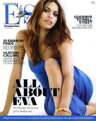 Eva Mendes Pictures from ES Magazine