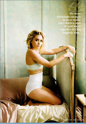 Sexy Ashley Olsen Marie Claire Cover