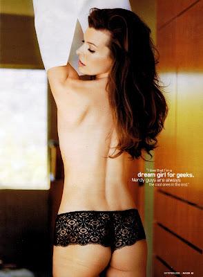 Milla Jovovich Maxim Sept 2009