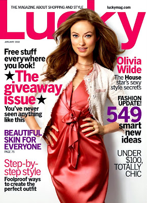 Olivia Wilde Lucky Mag 2010