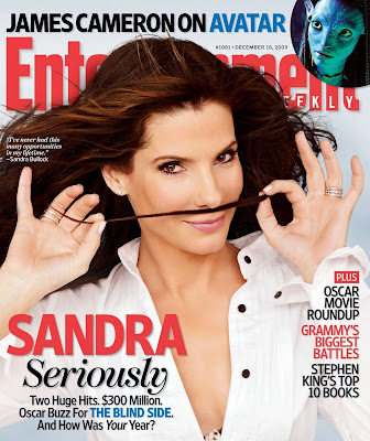 Sandra Bullock Entertainment Weekly Cover