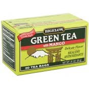 bigelow mango green tea