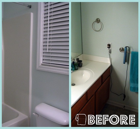 Peas and Crayons: Modern Meets Vintage - Master Bath Makeover