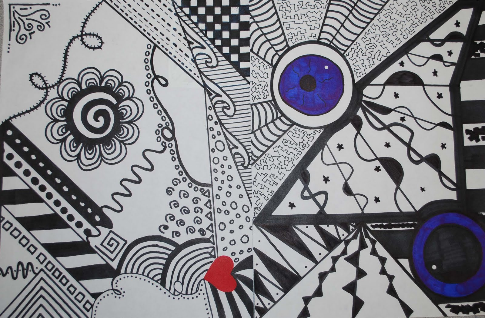 Line Design Artwork : Isfeld creative arts line doodles