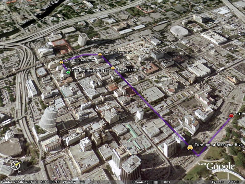 google earth 3d map