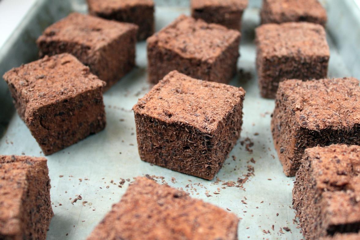 Chocolate Malt Marshmallows | Shauna Sever | The Next Door Baker
