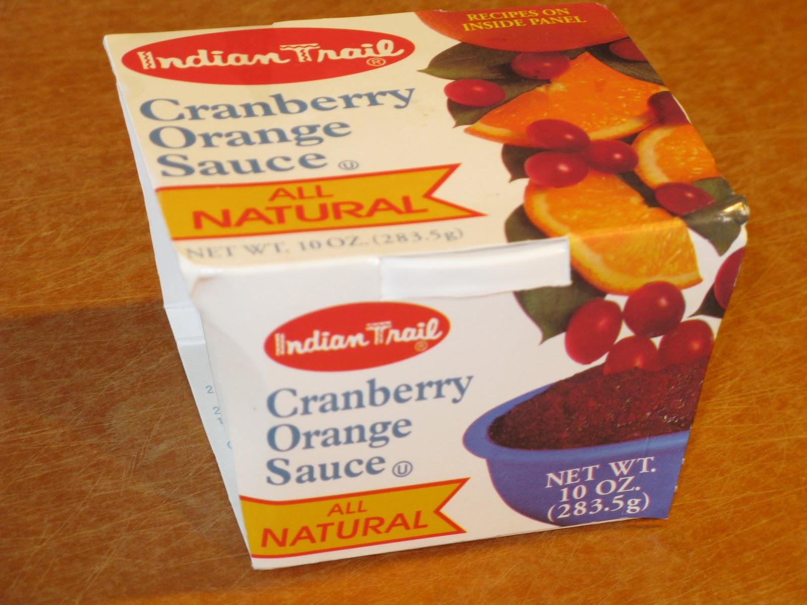 Cora's Recipe for (Almost Indian Trail) Cranberry Orange Sauce