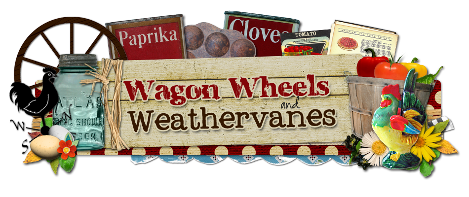 Wagon Wheels And Weathervanes