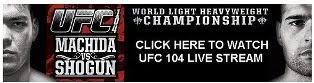 UFC 104 Live Streaming