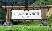 Tejon Ranch sign