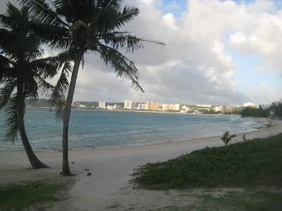 Guam beach scene