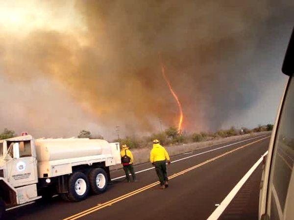 Russell County Fire Tornado