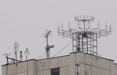 Moscow's secret antennas